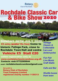 Rochdale classic car show 2020